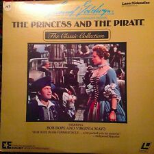 The Princess And The Pirate -  Laserdisc  Buy 6 For Free Shipping