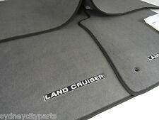 TOYOTA LANDCRUISER 200 SERIES CARPET FLOOR MAT SET GREY GXL ALT 60TH 2007-2012
