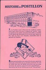 VINS DU POSTILLON BUVARD BLOTTING PAPER