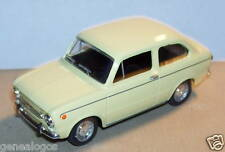 MINIATURE CAR MADE IN FRANCE SEAT 850 1969 SOLIDO 1/43 NEUF