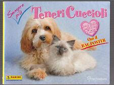 ALBUM FIGURINE PANINI - TENERI CUCCIOLI - con poster - VUOTO