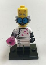 Genuine LEGO Minifigure Monster Scientist - Complete - from Series 14 - col213
