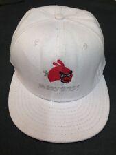 WHITE Angry Birds Cappello Da Baseball Taglia 55 cm