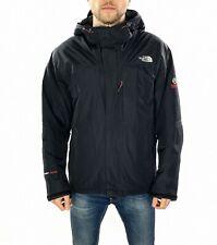 Men's The North Face Summit Series Hyvent Alpha Rain Jacket In Black Size Medium
