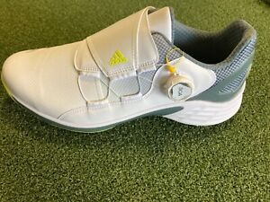 Adidas ZG21 BOA Golf Shoe - Pick Your Size - White/Yellow