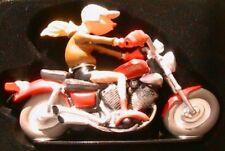 JOE BAR TEAM EVA NIKESSEBA MOTO YAMAHA 5.35 VIRAGO FIGURINE 1/18 RESINE BD BIKE