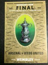 Arsenal v Leeds United - FA Cup Final - 6th May 1972 - Wembley