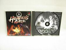 HEAVENS GATE Heaven's PS1 Playstation Japan Game p1