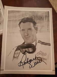 Rodger Ward, Autographed 8x10 Racing Photo Only 1 On Ebay of this type! (VG)