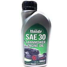 Petrol Lawnmower SAE30 Engine Oil 600ml Perfect Amount For A Service - HP140