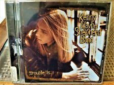 "Kenny Wayne Shepherd Band ""Trouble Is."" Cd~1997 Revolution 924689-2~Blues Rock"