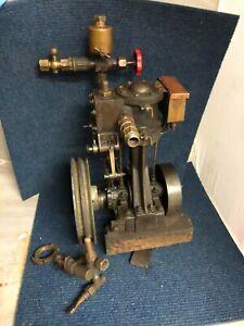 Complete Stuart 5A Marine Engine & Reversing Gear Displacement Lubricator