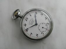 Collectible Gostrest Tochmech NKPS Railway Soviet Pocket Watch 1920s H Moser Mov