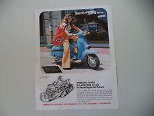 advertising Pubblicità 1977 LAMBRETTA 150 DL