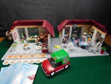 Playmobil Cafe- u. Pizzeria-Set: 6220 x 2/6291/6292/6392/6334, O.-BAs, ohne OVP!