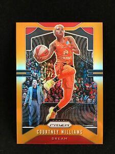 Courtney Williams 2020 WNBA Prizm Orange /65 #24 Atlanta Dream