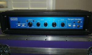 Vintage MXR Model 126 Flanger Doubler Effects Blue Face w/Rack Case CLEAN