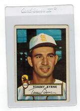 1952 Topps Tommy Byrne St Louis Browns #241 Baseball Card