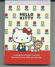 Sanrio Hello Kitty Notepad Mini Tulips