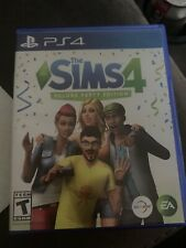 Sims 4: Deluxe Party Edition (Sony PlayStation 4, 2017) PS4