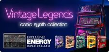 UVI VINTAGE LEGENDS Virtual Instruments BRAND NEW! Mac/PC PLUGINS $AVE 200.00
