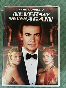 Never Say Never Again DVD - Sean Connery as James Bond - 2003 - Free Post