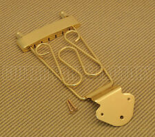 TP-DTL-G Gold Deluxe Long Trapeze Tailpiece for Thin Hollowbody Jazz Guitar