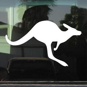 KANGAROO CAR WINDOW LAPTOP VINYL DECAL / STICKER