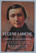 Affiche EUGENE LABICHE Esprit Second Empire - Exposition Paris