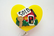 REALTOR SOLD REAL ESTATE OFFICE ID BADGE HOLDER