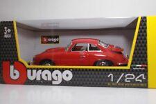 """Bburago 22079 Porsche 356 B Coupe' """"Rossa"""" - METAL Scala 1:24"""