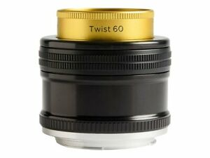Lensbaby Twist 60 Lens 60 mm f/2.5 compatible with Canon EF Lensbaby Twis LBT60C