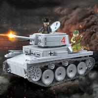 535pcs LT-38 Leichter Panzer Tank Modell mit Soldat Figuren Bausteine Spielzeug