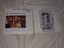LOT of ART FOXALL Private Jazz LP's+Autograph Saxophone Bop Soul R&B Funk RARE