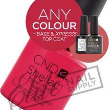 CND SHELLAC UV - 7.3ml - Any 1 Colour + Base + XPRESS5 Top + FREE CND Solar Oil