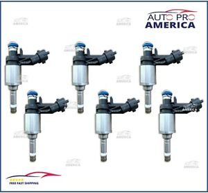 NEW Set (6) 2011-2019 EXPLORER Lincoln MKS MKT Fuel injectors 3.5L BA5Z9F593B