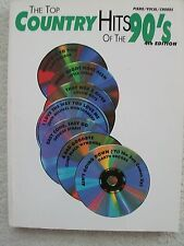 74 Top Country Hits 90's 4th Edition Voice Piano Guitar Variety Artists