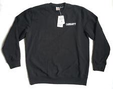 Carhartt Wip Sweatshirt College Script XL Black T-Shirt Fashion Streetwear Neu !