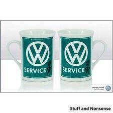 VW Mr Bubblehead Service Lippy Mug Volkswagen Vdub Classic Retro Logo China Cup