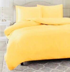 Ikea ANGSLILJA King Duvet cover Set With 2 pillowcases yellow NEW
