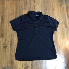 Nike Golf Dri Fit Tour Performance XL short sleeve Black polo