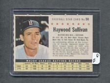 1961 Post #56 Haywood Sullivan (Red Sox) (Company)  NM  ( Flat Rate Ship)