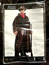 New Forum Novelties Premium Deluxe Costumes Cowboy Wild West halloween