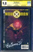 *SIGNED BY BRIANNA HILDEBRAND* New X-Men 115  1st Negasonic CGC 9.8 SS Deadpool