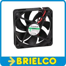 VENTILADOR TERMOPLASTICO 24VDC 2.04W 60X60X15MM 5400 ROTAC/MIN 2 CABLES BD11363