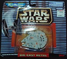 *NEW* Galoob Micro Machines Star Wars Millennium Falcon Die Cast Metal 66260