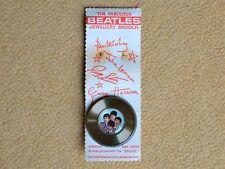 Beatles Memorabilia The Fabulous Beatles Jewellery Brooch Record With Portraits