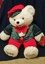 "2001 Snowflake Male 20"" Teddy Bear, Wal-Mart Annual Christmas Bear,"