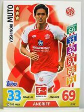 Match Attax 2017/18 Bundesliga - #232 Yoshinori Muto - 1. FSV Mainz 05