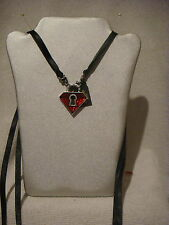 Alchemy Gothic pendant necklace in pewter Unlock My Heart